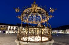 The Wrought Iron Well on the main square in Bruck