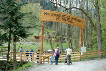 Weitental Nature Conservation Center in Bruck an der Mur, Styria
